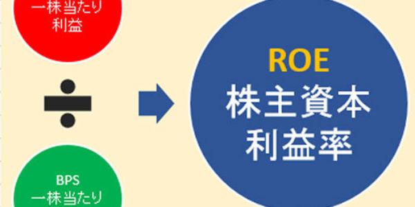 【やさしい株式入門】ROE(株主資本利益率)で収益性が分かる
